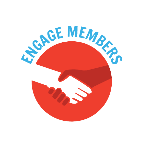 YEP Member and Business Engagement Graphic
