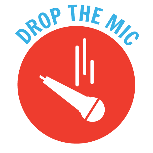 Yep Drop the Mic Graphic