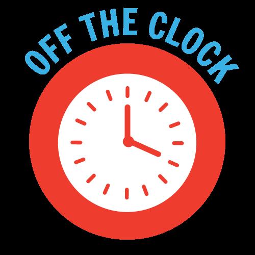 YEP Off the Clock Graphic