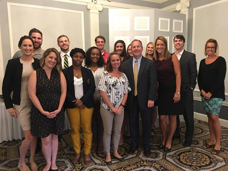 Young Erie Professionals with Boo Hagerty of Hamot Health Foundation